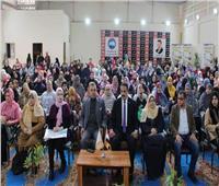 مؤتمر حاشد بالجيزةللتوعية بفيروس كورونا