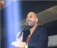 صور| محمد الريفي يُشعل حفله بالقاهرة