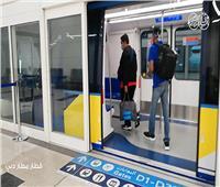 بالفيديو| رحلة الـ١٢٠ ثانية داخل قطار «مطار دبي»