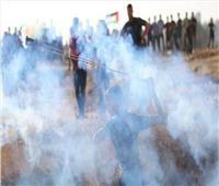 إصابة عشرات الفلسطينيين بالاختناق في مواجهات مع الاحتلال بجنين