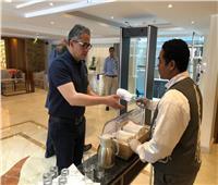 وزير السياحة يتفقد الفنادق العائمة