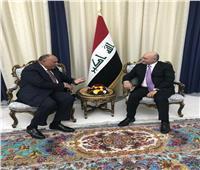 تفاصيل رسالة الرئيس السيسي لنظيره العراقي