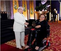 هبة هجرس: إيمان القيادة السياسية بقدرات المرأة خاصة ذات الإعاقة ساعدها في تحقيق الإنجازات