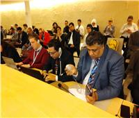 وفد «الوطنية للدفاع عن الحريات» يشارك بجلسة حقوق الإنسان بجنيف