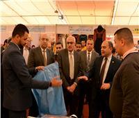 افتتاح معرض جامعة المنصورة الثانى للمنتجات الوطنية