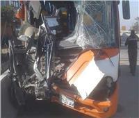 الكنيسة: حادث حافلة «إسكندرية الصحراوي» بسيط.. والجميع بخير