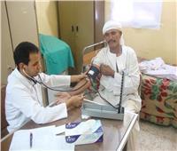 """قافلة طبية مجانية بوحدة فلسطين بالعامرية ضمن فاعليات """"حياة كريمة"""""""