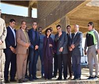 وزير الرياضة يتفقد الأعمال الإنشائية بمركز شباب الجزيرة ٢ بالسادس من أكتوبر