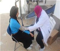 «طلاب من أجل مصر» تنظم حملة للتبرع بالدم في الجامعة