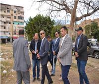 صور.. محافظ الإسماعيلية يقود حملة للنظافة بأرض الجمعيات والشيخ زايد