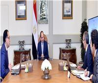 السيسي يجتمع مع رئيس الوزراء ووزير الاتصالات