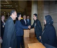 صور  نائبا وزيري الطيران والسياحة يتفقدان مطار القاهرة الدولي