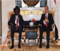 رئيس المخابرات يسلم رسالة تهنئة من السيسي لرئيس جنوب السودان