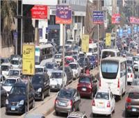 كثافات متحركة بمحاور القاهرة والجيزة وخدمات مرورية لتخفيف الأحمال