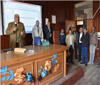 رئيس جامعة السادات يوعيالطلاب بشأن فيروس كورونا
