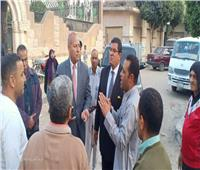 نائب محافظ القاهرة يطالب بسرعة انتهاء مشاكل الصرف بمسار العائلة المقدسة