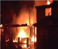 السيطرة على 20 حريقا بسبب الطقس السيىء في قنا