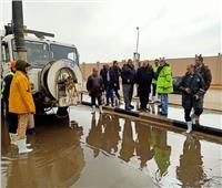 منخفض التنين  استمرار هطول الأمطار الرعدية في محافظات الجمهورية
