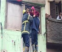 الحماية المدنية بالقاهرة تنقذ طفل عقب احتجازه داخل شقة بأحد العقارات