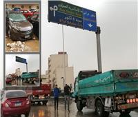 لحظة بلحظة | منخفض التنين يضرب مصر.. فيديو وصور