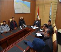 محافظ مطروح يتابع مع رئيس الوزراء عبر الفيديو كونفرانس استعدادات المحافظة لمواجهة الطقس السيئ