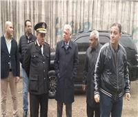 مدير أمن القليوبية ورئيس مركز ومدينة قليوب يتابعان أعمال شفط مياة الأمطار