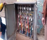 «منخفض التنين»| انفجار كشك كهرباء بمدينة أوسيم بسبب الأمطار
