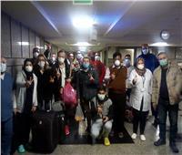 صور| الصحة: 12 متعافيا من فيروس كورونا يغادرون الحجر الصحي