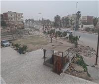 رياح وأمطار رعدية لليوم الثاني.. «منخفض التنين» يضرب شمال سيناء