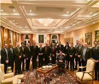 حفل عشاء على شرف وزير خارجية كندا بمنزل السفير المصري