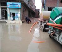 مستشفى حوش عيسى تغرق.. والحماية المدنية تتدخل لتصريف المياه