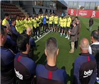 عاجل| برشلونة يعلن تعليق نشاط كرة القدم حتى إشعار آخر بسبب كورونا