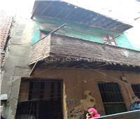 إخلاء عقار من السكان بعد انهيار سقفه بالسيدة زينببسبب «منخفض التنين»