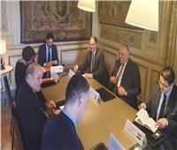 وزير الخارجية يسلم رسالة من الرئيس السيسي لنظيره الفرنسي بشأن سد النهضة