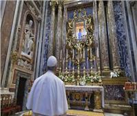 البابا فرنسيس يصلي من أجل الوقاية من فيروس كورونا
