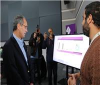 «عمرو طلعت» يتفقد مركز المراقبة والتحكم لشبكة المصرية للاتصالات
