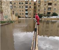 «القباج» توجه الهلال الأحمر بالإسماعيلية بإنقاذ الأسر المتضررة