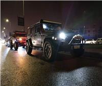 فيديو| «بطل التجمع الخامس» أنقذ 46 سيارة و6 أتوبيسات من الغرق