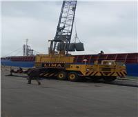 نشاط ملحوظ في حركة السفن بميناء الإسكندرية بعد تحسن الطقس