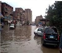المرج بدون رئيس حي.. والأهالي يغرقون في مياه الأمطار
