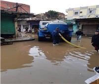 محافظ المنوفية يتابع أعمال الانتهاء من رفع تجمعات المياه