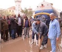 مصرع مواطن أثناء تصريفه مياه الأمطار من أعلى عقار ببنها