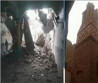 فيديو| كنيسة بقنا تساهم في إعادة بناء مسجد انهار بسبب الطقس