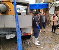 رئيسة مدينة المحمودية: جهود لتصريفمياه الأمطار بالقرى
