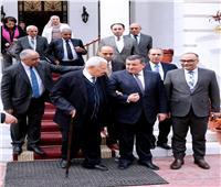 هيكل يلتقي مكرم وأعضاء المجلس الأعلى لتنظيم الإعلام