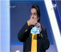 بالفيديو| جمال شعبان: الكمامة قد تتحول لعدوى في هذه الحالة