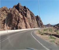 المرور تفتح طريق عيون موسى اتجاه شرم الشيخ