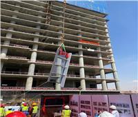 وزير الإسكان: الانتهاء من الهيكل الخرسانى لأول برج (C03) بارتفاع ٨٠ متراً