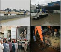 القوات المسلحة تعاون أجهزة الدولة في التغلب على آثار سوء الأحوال الجوية