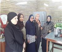 افتتاح مشروع لخدمة المرأة العاملة في جمعية عيد الأم بأسوان